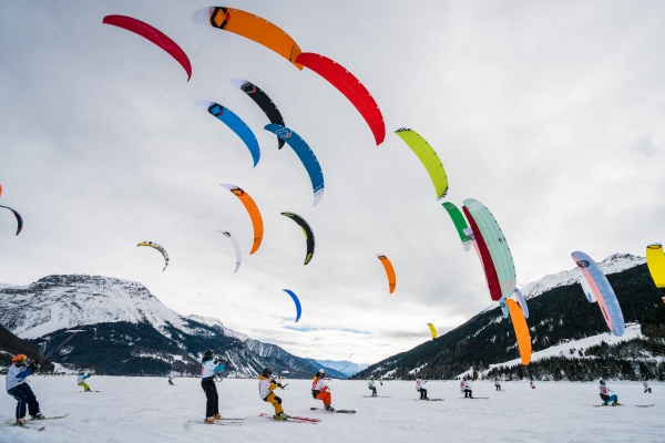 Silvaplana Is Getting Ready For The Grand Finale Of The Snowkite World Cup